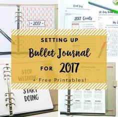 bullet journal new year