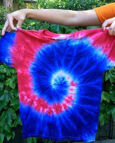 4th of July Tie Dye DIY