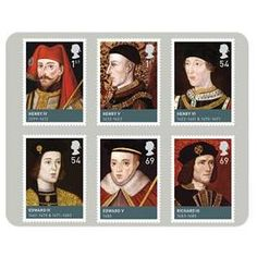 Houses of Lancaster & York Stamp Set, Royal Mail
