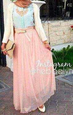 8 hijab fashion styles for summer 2015 (Hijab Chic turque style and Fashion) Islamic Fashion, Muslim Fashion, Modest Fashion, Hijab Fashion, Fashion Outfits, Fashion Styles, Style Fashion, Fashion 2015, Modest Wear
