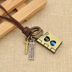 Amazon.com: Book Hourglass Pendant Necklace Forever Love Honeyed Words Cross Necklace Gift: Jewelry