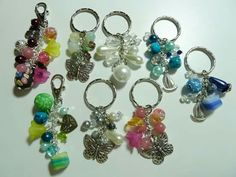 Hand bag charms and keyrings   www.myivyhouse.co.uk
