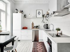 I wish I lived here: 3 beautiful Scandi kitchens