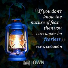 A little fear is nothing to be afraid of.