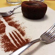 #peccatidigola #hallbar #pranzo #soufflèalcioccolato #milano #sarpi  #instafood