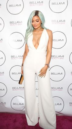 Kylie Jenner Hair Mint Green | Radar Online
