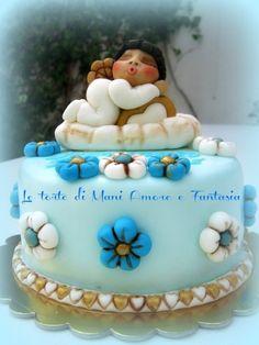 Torta decorata stile thun / ricetta sponge cake al cioccolato