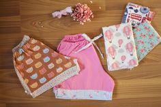 DIY shorts para criança