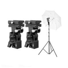 Promo Offer Meking Flash Hot Shoe Speedlite Umbrella Mount Holder Swivel for Light Stand Flash Bracket B For Trigger Hot-Shoe Flash Umbrella Lights, Watch Photo, Umbrella Holder, Hot Shoes, Shoes Tennis, Cool Tech, Flashlight, Consumer Electronics
