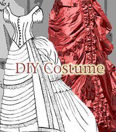DIY Victorian Dress Costume Patterns