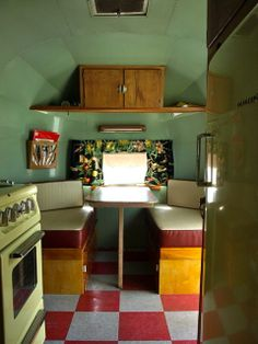 decorated travel trailers | Found on vintagetrailercamp.com