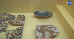 French Tile exhibition in Museum Saint-Loup, Troyes - video by Canal 32 - 1000 carreaux de pavement au musée Saint-Loup