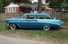 1956 Chevrolet Bel Air Nomad 2-Door Station Wagon (3 of 8), via Flickr.