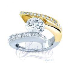 Diamond Tension : Sareen Tension Ladies Diamond Ring