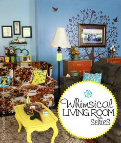 Hipster Decor : Now, this is one whimsical living room! It has owls, a dragon, twinkle lights, a… Twinkle Lights, Twinkle Twinkle, Hipster Decor, Do It Yourself Home, Cool Diy Projects, Home Decor Furniture, Diy Bedroom Decor, Fun Crafts, Troll