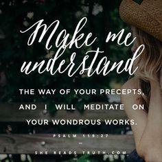 Psalm 119:27