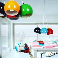 Lampa Noa Multicolor firmy Azzardo Moc koloru i prosty design #TomixOswietlenie