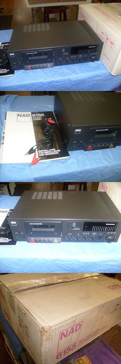 Cassette Tape Decks: Nad 6155 Cassette Deck - The Finest Deck Nad Has Ever Produced? Repair -> BUY IT NOW ONLY: $75 on eBay!