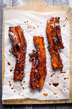 Char Siu (Cantonese BBQ Pork Belly) Recipe Asian Food Share and enjoy! Pork Belly Recipes, Meat Recipes, Asian Recipes, Cooking Recipes, Chinese Recipes, Hawaiian Recipes, Cooking Pork, Recipies, Asian Foods