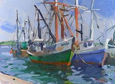 Charles Sovek, Artist and Author   Favorites   Most Recent - Oil Paintings