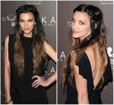 My new hair color...i like darker ombre styles...