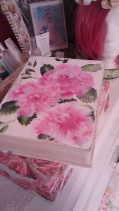 Book box I painted