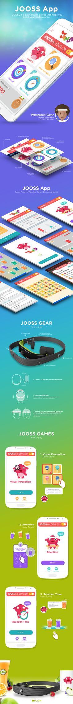JOOSS App on Behance
