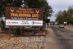 The Entrance to Kruger National Park- Phalaborwa Gate. Just Fantastic.......