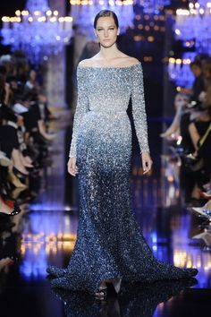 Elie Saab at Couture Fall 2014