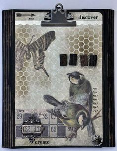 Tim Holtz Wallflower Collection Folio - Joggles.com