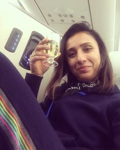 """Anita Rani on Instagram: """"Top Rani travelling tip. Wear cashmere tracksuit and drink champagne 🥂 naturally many more travelling tips and holidays snaps are on the…"""" Anita Rani, Tv Presenters, Travelling Tips, Lounge Wear, Cocoa, Champagne, Cashmere, Celebs, Amazing"""