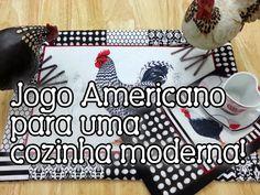 Tia Lili Patchwork: jogo americano dupla face (com mug rug!) simples e r...