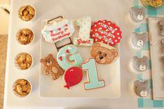 Vintage Bear 1st Birthday Party » Hello Love Designs