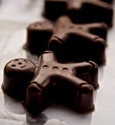 Homemade Chocolate filled with Baileys Cream