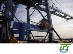 LA MEJOR TERMINAL PORTUARIA DE MÉXICO. Durante nuestra primera fase, Tuxpan Port Terminal contará con 4 grúas STS Super Post Panamax,  8 grúas ASC's, manejo especializado para la industria automotriz, un área para maniobras de almacén con una superficie de 5,000 m2, equipo para operaciones del CFS, así como equipo especializado para manejo de acero y carga general. #tpt