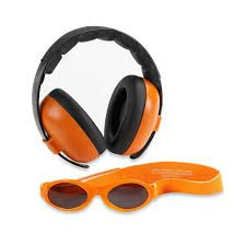 f404c713c47 The Baby Banz earBanz Hearing Protection plus Sunglasses protects your  child s ears and eyes. The hearing protectors effectively attenuate harmful  loud ...