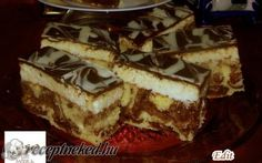 Érdekel a receptje? Hungarian Recipes, Hungarian Food, Cake Cookies, Coco, Tiramisu, French Toast, Food And Drink, Pie, Cooking Recipes
