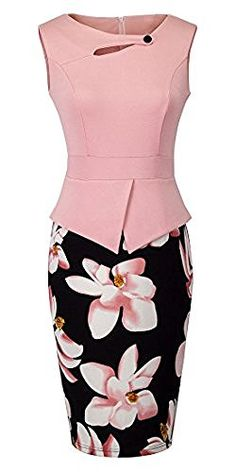 HOMEYEE Women's Vintage Cut Out Contrast Floral Evening Dress B288, http://www.amazon.co.uk/dp/B01J5OUCSG/ref=cm_sw_r_pi_awdl_x_DwW9xb0FDFAVR
