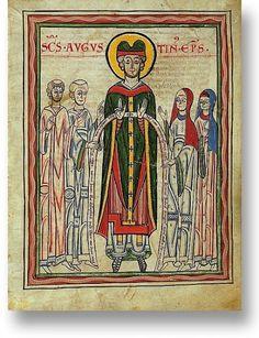 Guta-Sintram Codex 1154 German