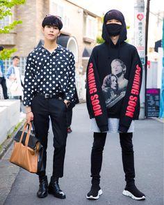 "15.8k Likes, 65 Comments - Harajuku Japan (@tokyofashion) on Instagram: ""21-year-old Ryo (@i__am__ryo) and 19-year-old Minho (@it_is_minstagraam) on the street in Harajuku.…"""