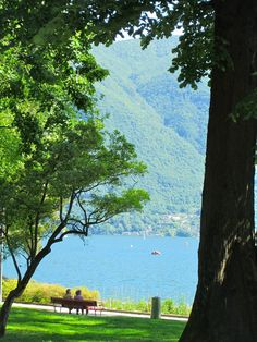 Absorbing the beauty of Lugano, Switzerland