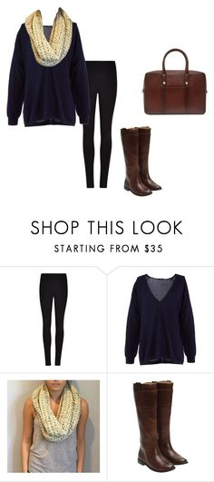 """Untitled #33"" by oliviaf14 on Polyvore featuring Winser London, TIBI and Frye"