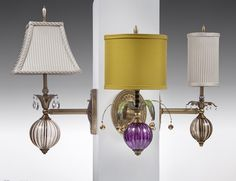 Wall Flowers - harlequinlight.com - candlesticks and lighting by designer Mollie Woods