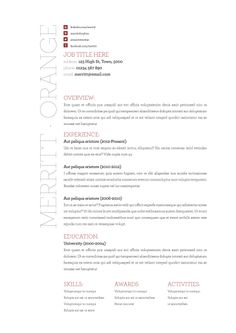 Functional Resume Template For Microsoft Word Office  Our