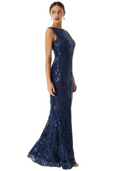 362a2632d71 8 Best SLEEVELESS SEQUIN EMBROIDERED MAXI DRESS Style No  DR1409 images