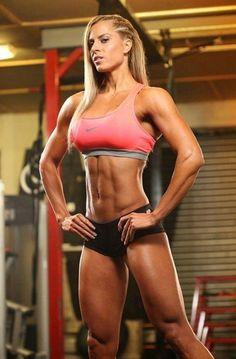 Helga Stibi www.OnlyRippedGirls.Com #Fitness #Gym #FitnessModel #Health #Athletic #BeachGirl #hardbodies