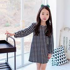 Compra Lindo vestido de 10 años online al por mayor de ... Outfits Niños, Korean Outfits, Kids Outfits, Korean Clothes, Plaid Wedding, Elegant Girl, Girls Dresses, Summer Dresses, Cotton Lace