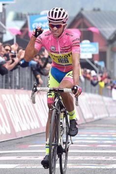 Alberto Contador shows his relief after stage 20. (Tim de Waele/TDWSport.com)