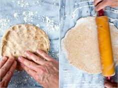 Yeasted crusts are more rustic than French-style short crusts They're also easier to manipulate — they don't crack and tear Remember to roll this out thinly so that it doesn't become too bready.