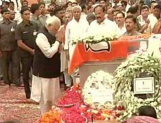 Live Blog: PM Narendra Modi pays homage to Gopinath Munde at BJP headquarters | News Nation